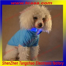 Hot sale Plain Color led flashing pet dog costume for kids