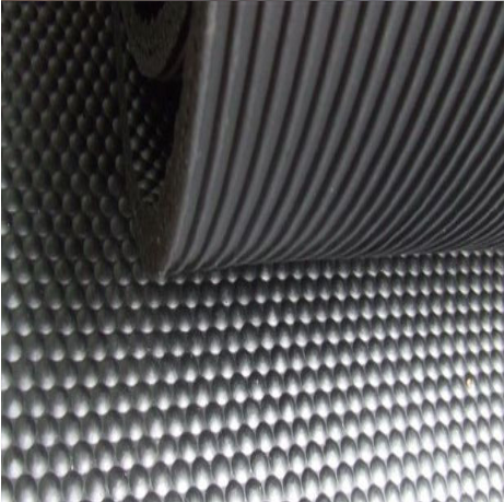 2016 Best Seller Rolled Alley Mat Cow Rubber Floor For