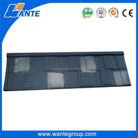 Cheap Roofing Materials Modern House Design Types Aluminum steel sheet Stone Coated Metal Roof Tile