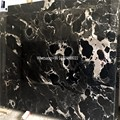 black galaxy granite marble chinese black marble with white veins 300X300 tiles
