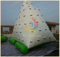 2013 hot selling new for kid and adult inflatable iceberg water game