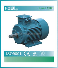 Y2 cast iron three phase ac motor electric motor 220v 5hp