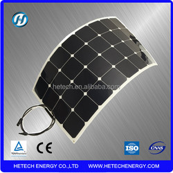 flexible solar panel 100w mono from Hetech Energy