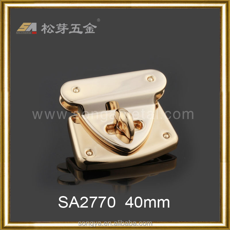 Accept Branded Oem Or Odm Lock Hardaware Buckle Produce, Custom Fashion Lock For Luggage And Bag