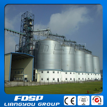 Pest and moisture proof steel grain silo for paddy storage