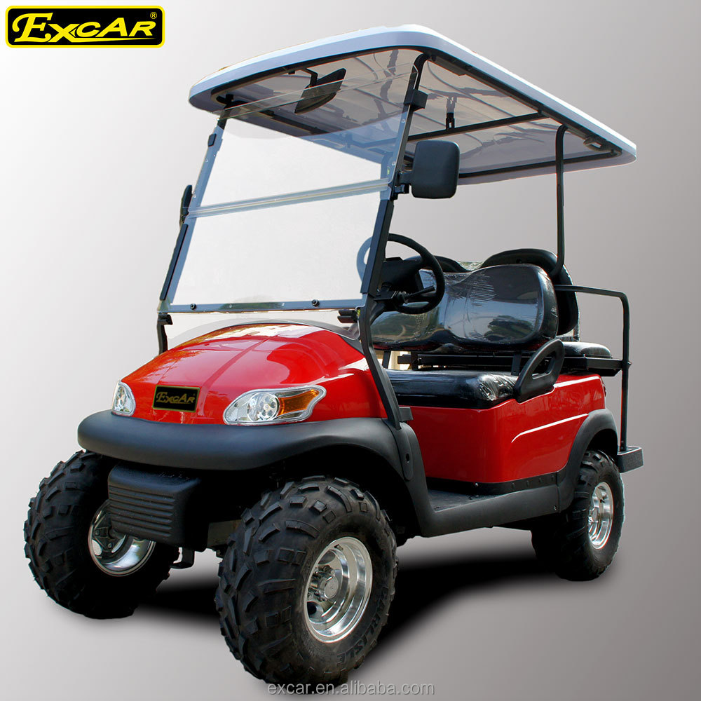 3 4 seats and electri fuel type electric buggy golf cart for Motorized carts for sale