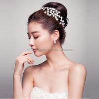 Manufacturers wholesale hair accessories hair band bridal jewelry wedding hair ornaments super flash diamond wedding