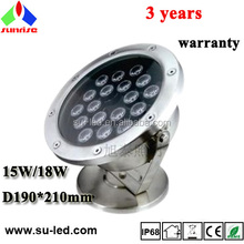18 watts 36watts high power LED underwater lights, color can be single or RGB