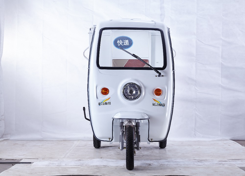 Open electric tricycle cargo box for delivery /express car