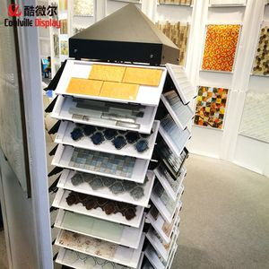 Mosaic tile hanging display rack- racks boards