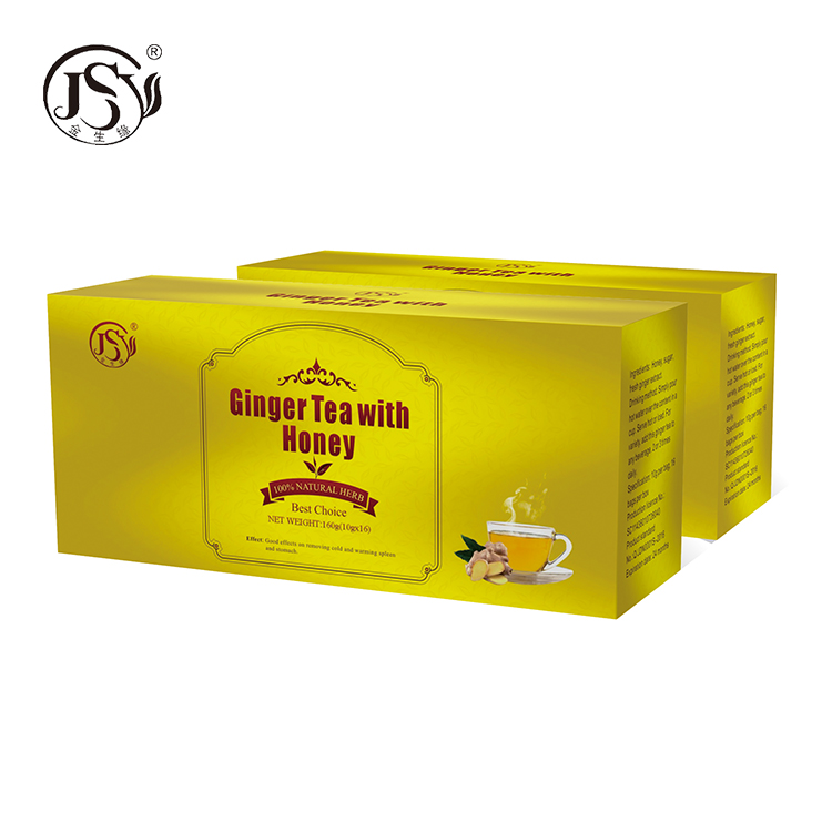 Green&health world best health benefits product honey ginger tea