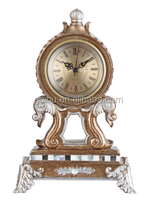 2014 NEW styles fashion gold antique table clock