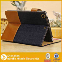 New Unique Jeans Case For iPad mini ,for ipad mini jeans case