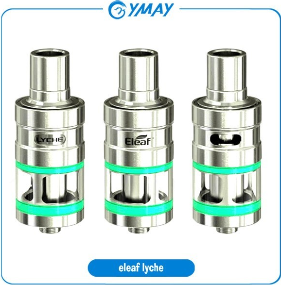 2016 Wholesale Eleaf LYCHE Atomizer with New Notchcoil (NC 0.25ohm) Head LYCHE RBA tank