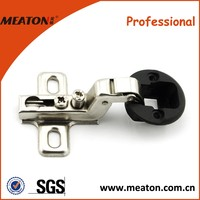 SLIDE-ON ONE WAY GLASS DOOR CABINET HINGES