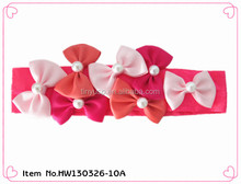 2014 kids hair accessories stretch elastic headband