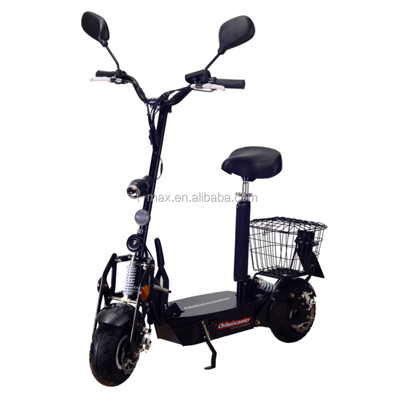 Chihui import cheap China electric scooter 800W EEC elelektro roller on road use