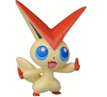 Tomy Pokemon Monster Collection Mini Figure-Victini Plastic Figure