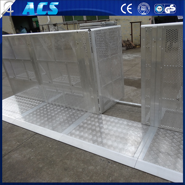 ACS Traffic Plastic Pliable Barrier/Crowd Control Barrier/Safety Road Barrier