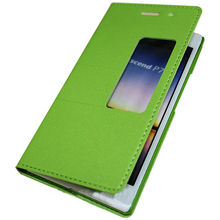 For Huawei Ascend P7 Flip Leather Card Wallet Case Cover, Colorful