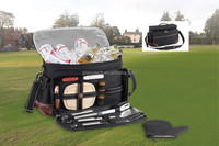 Cooler bags for BBQ, portable BBQ bag carry bag BBQ set