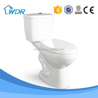 Sanitary ware public bathroom fitting ceramic toilet pots