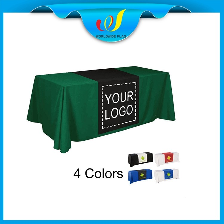 Custom Advertise Promotion Trade Show Cheap Center Table Cover