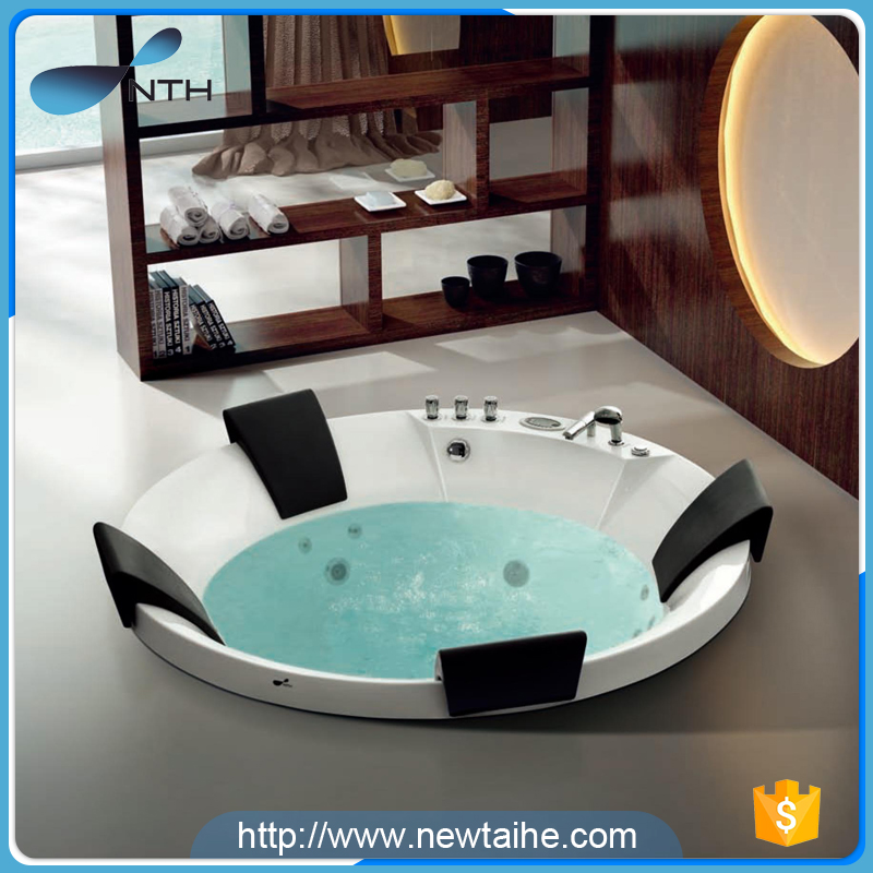 NTH online shopping cheap price acrylic freestanding portable massage used bathtub for adults