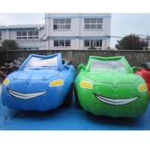 2017 Inflatable advertising cool smiling racing car inflatable car model for advitisement/amusement/party/show