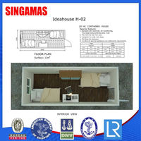 20hc Modular Prefabricated Container House