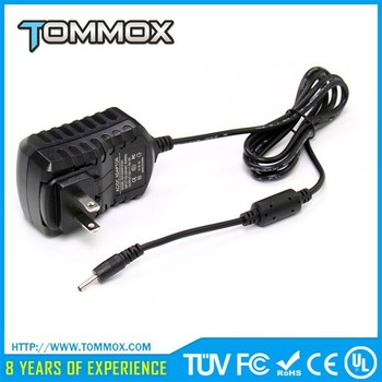 12V 1A 1.5A 2A 3A Power Adapter Tablet Charger 110V-240V AC DC 3.0x1.1mm