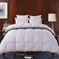 Home textile brand names full bed hotel blanket quilted down comforter