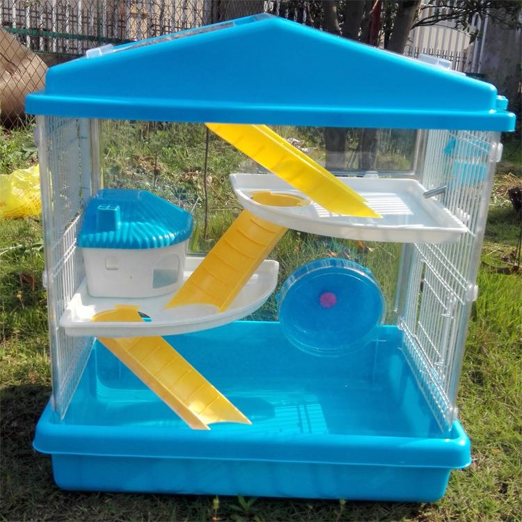 New design custom plastic small animal outdoor cage with high quality