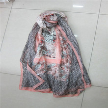 Best selling fashion high quality silk scarfs suzhou wholesale