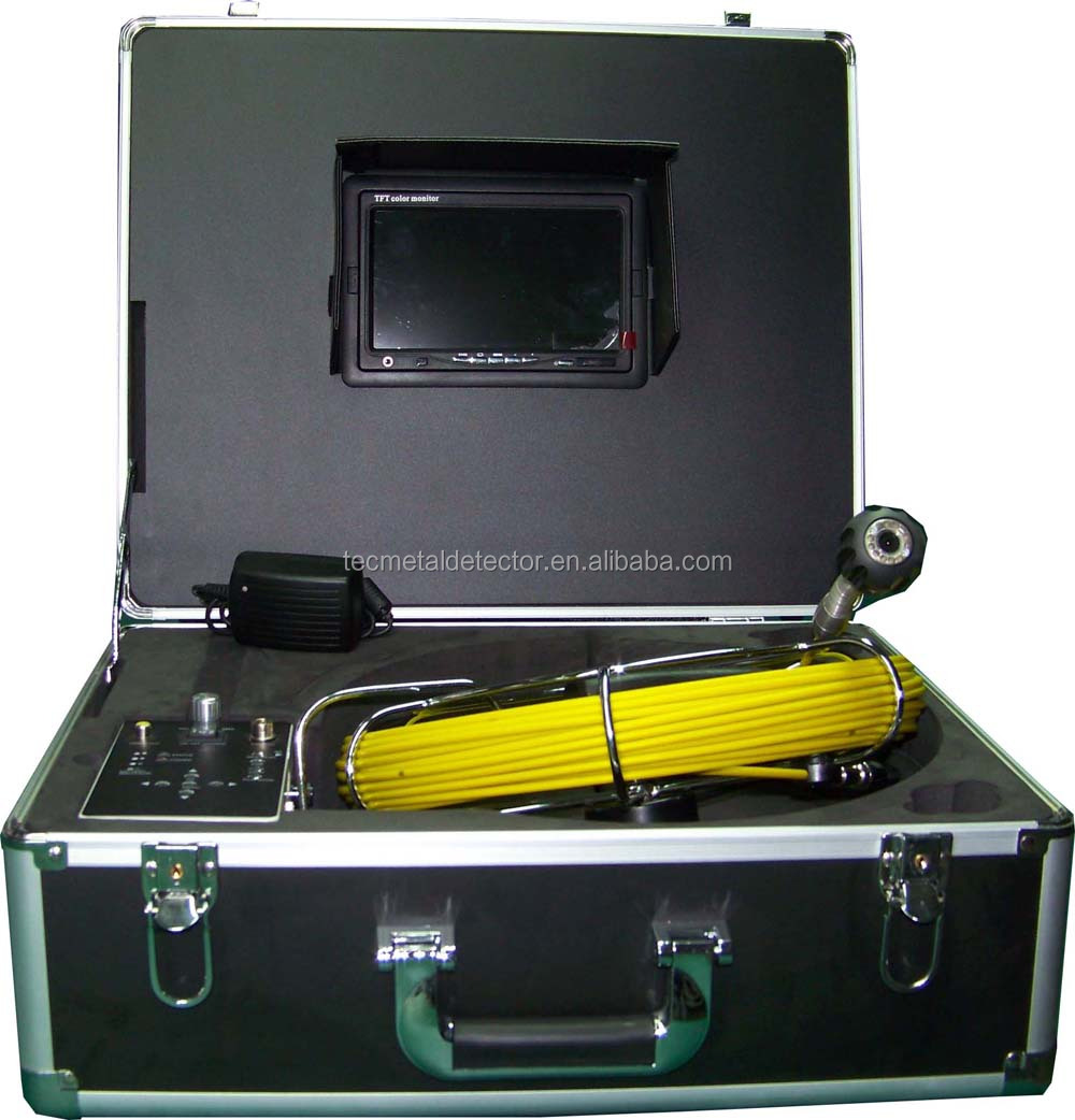 hot sales!!23mm camera industrial pipe inspection camera with 120 degree view angle,DVR function TEC-Z710DM