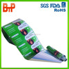 metalized aluminium hair shampoo film rolls