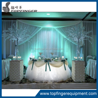 adjustable wedding pipe and drape /mandap/wedding decoration design/used pipe and drape for sale