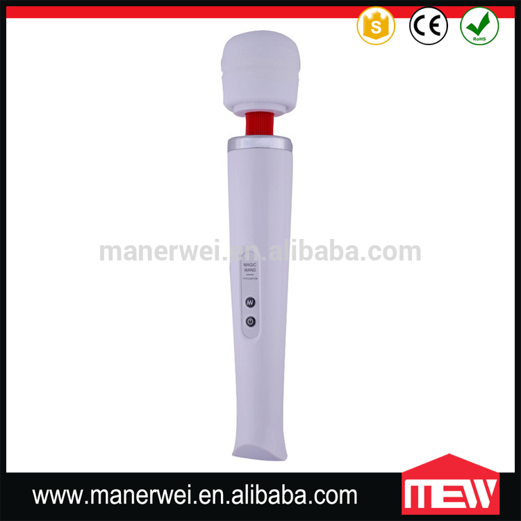 USB Rechargeable Wand Massager 10 Speed Erotic Vibrator Toys Sex Machine