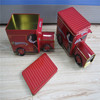 new design funny toy Truck Shaped Tin Can for packaging/storage