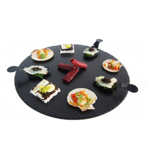 Competitive Price Dinnerware Slate Stone Garlic Grater Plate Wholesale