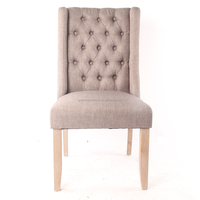High Quality Furniture Vintage Fabric Dining Room Chairs