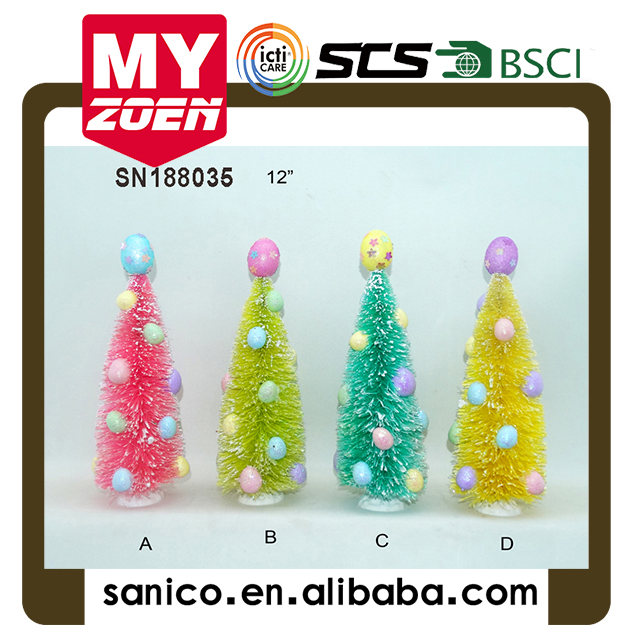 the color tree for Christmas Arts and crafts Children toys Decorations