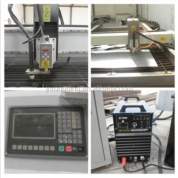 With torch height controller plasma cnc cutting machine cnc plasma cutting machine china