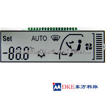 Automotive lcd display