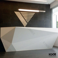 half round reception desk,reception counter, white reception desk