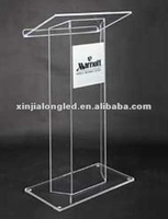 Clear Acrylic Furniture Clear Acrylic Lectern Floor Standing Acrylic Church Lectern