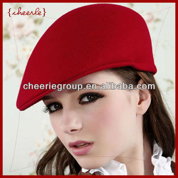 2013 design new style pretty elegant ladies fashion felt hat
