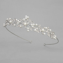 new wedding tiaras pearl girls tiara cheap tall pageant crown bridal tiara