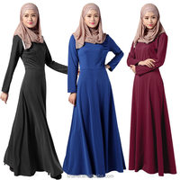modern muslim abaya long dress baju kurung