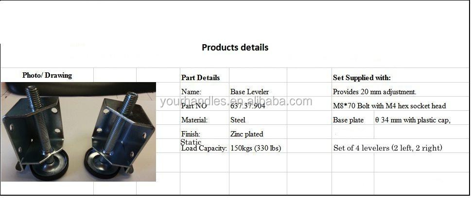 Hafele Furniture Leveling Feet Hardware Foot Plate Swivels Leveler Buy Foot Plate